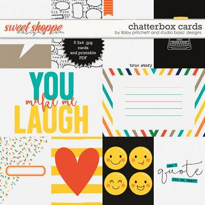 Chatterbox Cards by Studio Basic Designs & Libby Pritchett