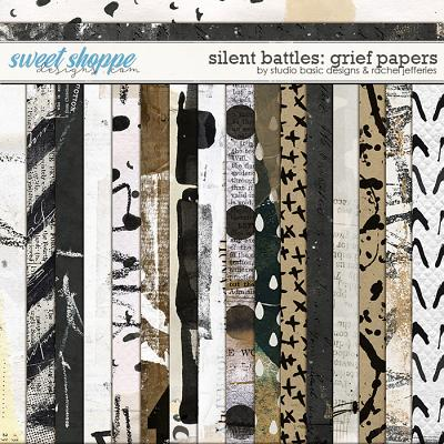 Silent Battles: Grief - Papers by Studio Basic Designs & Rachel Jefferies