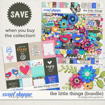 The Little Things  {Bundle} by Blagovesta Gosheva