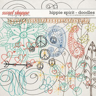 Hippie Spirit Doodles by On A Whimsical Adventure