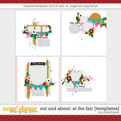 Out and About: At the Fair [Templates] by Crystal Livesay