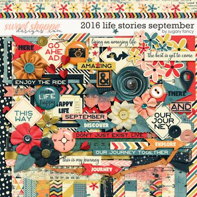2016 Life Stories - September Kit by Sugary Fancy
