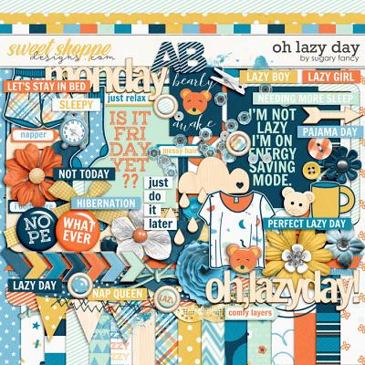 Oh Lazy Day Kit  by Sugary Fancy