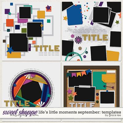 Life's Little Moments September: Templates by Grace Lee