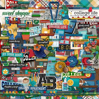 College Life by Clever Monkey Graphics