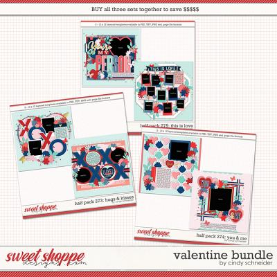 Cindy's Layered Templates - Valentine Bundle by Cindy Schneider