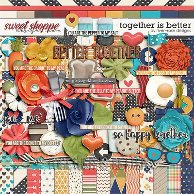 Together is Better by River Rose Designs