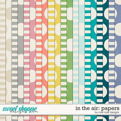 In the Air: Papers by River Rose Designs