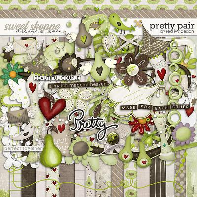 Pretty Pair by Red Ivy Design