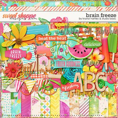 *FREE with your $10 Purchase* Brain Freeze by Krystal Hartley and Studio Basic