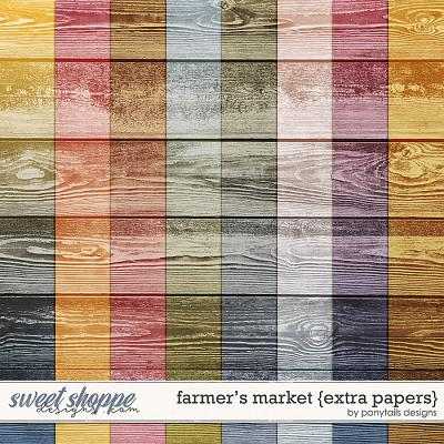 Farmer's Market Extra Papers by Ponytails
