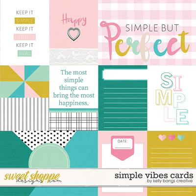 Simple Vibes Cards by Kelly Bangs Creative