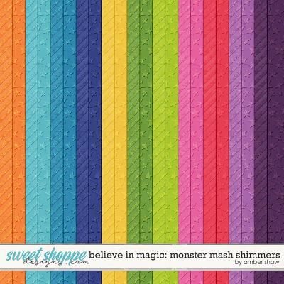 Believe in Magic: Monster Mash Shimmers by Amber Shaw