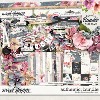 Authentic: Bundle by Kristin Cronin-Barrow