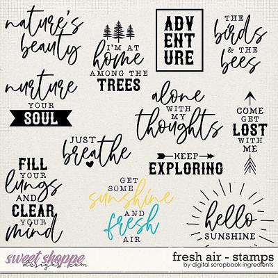 Fresh Air | Stamps by Digital Scrapbook Ingredients
