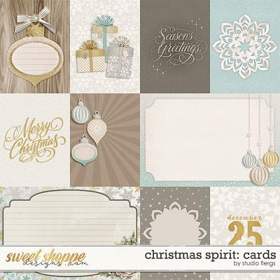 Christmas Spirit: CARDS by Studio Flergs