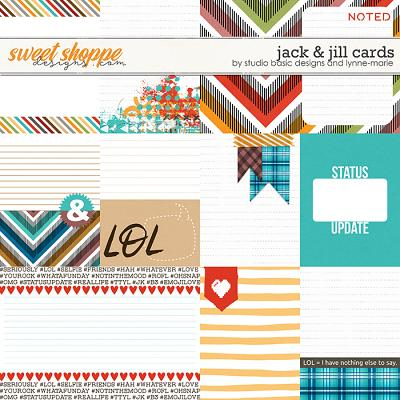 Jack & Jill Cards by Studio Basic and Lynne-Marie