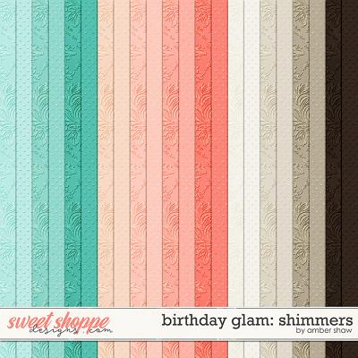 Birthday Glam: Shimmers by Amber Shaw