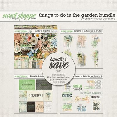 Things To Do In The Garden Bundle by On A Whimsical Adventure