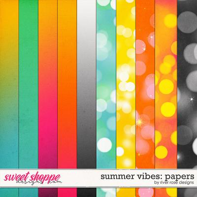 Summer Vibes: Papers by River Rose Desings