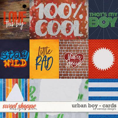 Urban boy - Cards by WendyP Designs