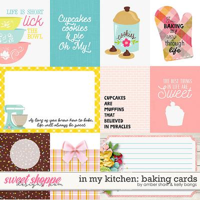 In My Kitchen: Baking Cards by Amber Shaw and Kelly Bangs Creative