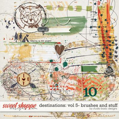 Destinations: Vol 5 - Brushes And Stuff by Studio Basic