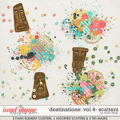 Destinations: Vol 4 - Scatterz by Studio Flergs