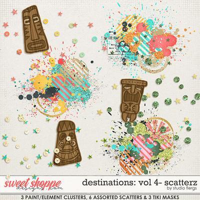 Destinations: Vol 4 - Scatterz by Studio Flergs