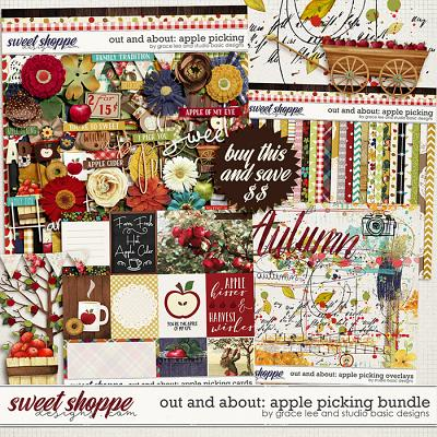 Out and About: Apple Picking Bundle by Grace Lee and Studio Basic Designs