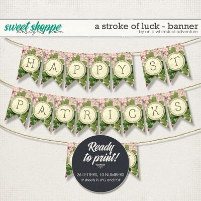 A Stroke Of Luck Banner by On A Whimsical Adventure