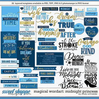 Cindy's Magical Wordart: Midnight Princess by Cindy Schneider