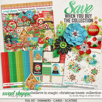 Believe in Magic: Christmas Treats Collection by Amber Shaw & Studio Flergs