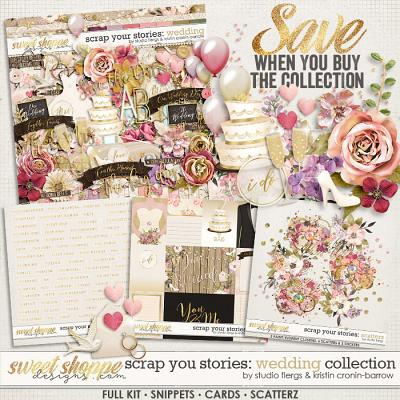 Scrap Your Stories: Wedding - Collection by Studio Flergs and Kristin Cronin-Barrow