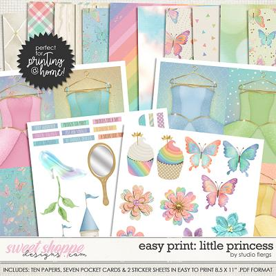 Easy Print: Believe in Magic: LITTLE PRINCESS by Studio Flergs