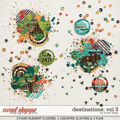 Destinations: Vol 5 - Scatterz by Studio Flergs