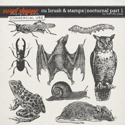 CU BRUSH & STAMPS | NOCTURNAL PART 1 by The Nifty Pixel