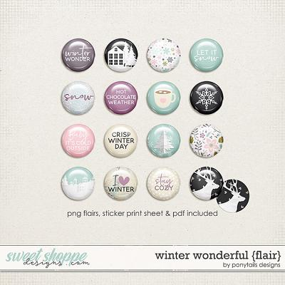 Winter Wonderful Flair by Ponytails
