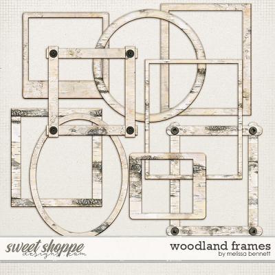 Woodland Frames by Melissa Bennett