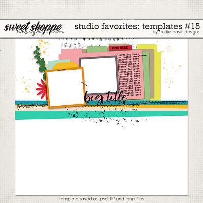 Studio Favorites: Templates #15 by Studio Basic