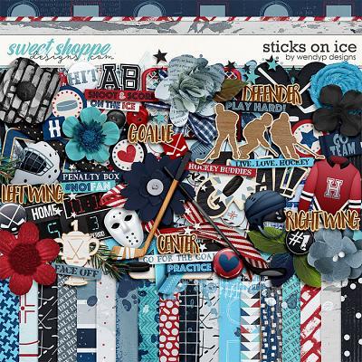 Sticks on ice by WendyP Designs
