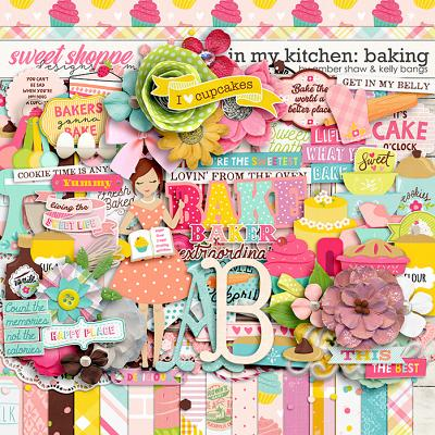 In My Kitchen: Baking by Amber Shaw and Kelly Bangs Creative