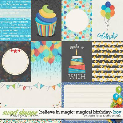 Believe in Magic Magical Birthday - Boy: Cards by Amber Shaw & Studio Flergs
