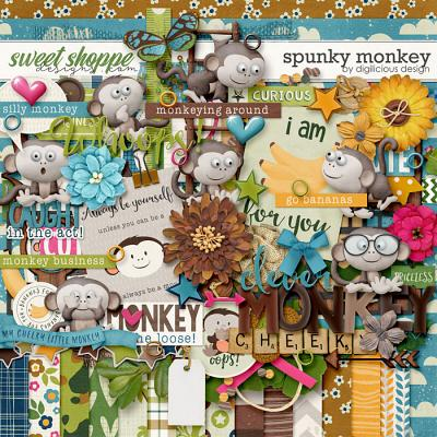 Spunky Monkey {Kit} by Digilicious Design