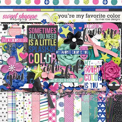 You're My Favorite Color: Kit by River Rose Designs