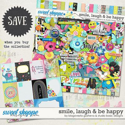 Smile, Laugh & Be Happy Bundle by Blagovesta Gosheva and Studio Basic