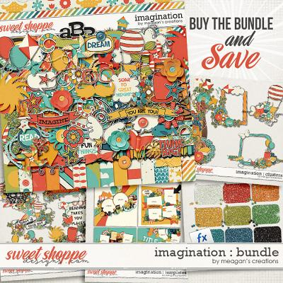 Imagination Collection Bundle by Meagan's Creations