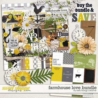 Farmhouse Love Bundle by Kelly Bangs Creative