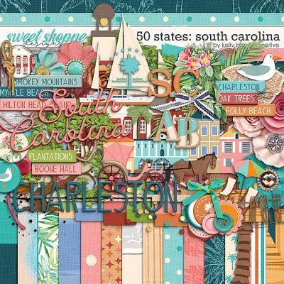 50 States: South Carolina by Kelly Bangs Creative