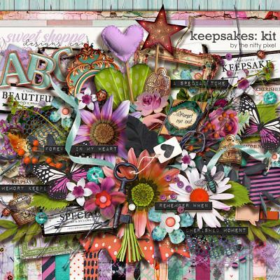 KEEPSAKES | KIT by The Nifty Pixel